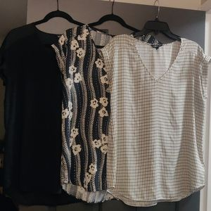 Express Rolled Sleeve Blouses